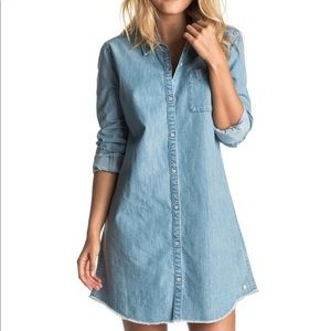 Roxy Cat Island Chambray Dress